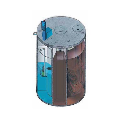 Taylex agent for taylex abs concrete tall tank
