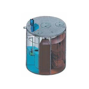 Taylex agent for taylex abs concrete tank